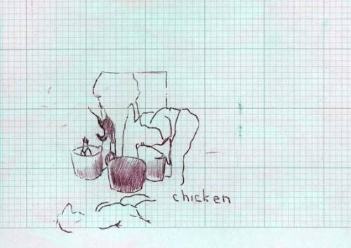 chicken grid