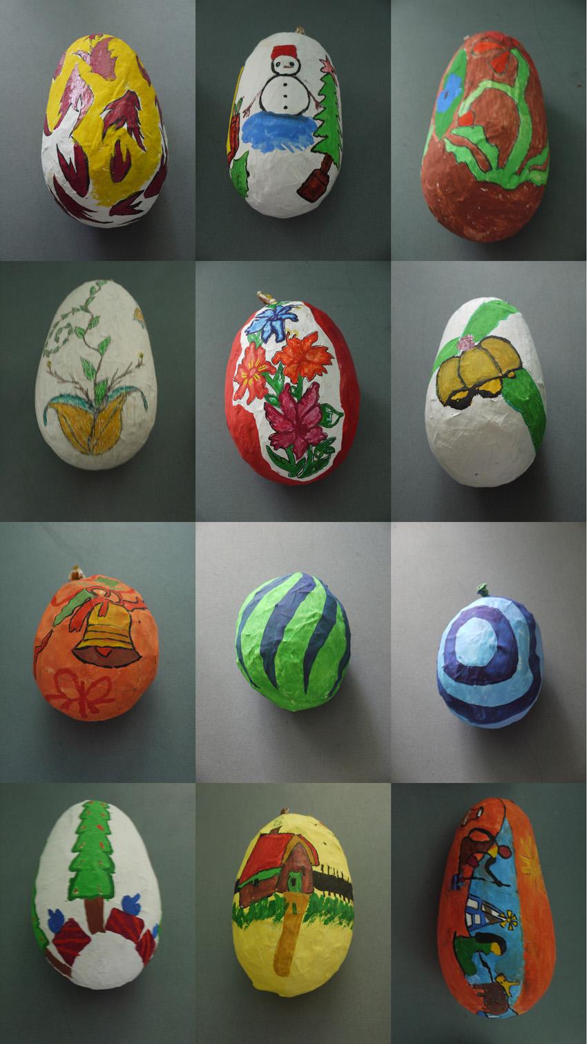 Paper Mache Decorating November 2009 Mvp Work In Progress