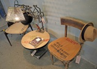chairs made from recycled materials by controprogetto