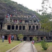 local tourism and undavalli caves...